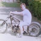 1992 T100 im Aufbau mit Rigid Heck