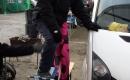 Stuntman Marrek in Action