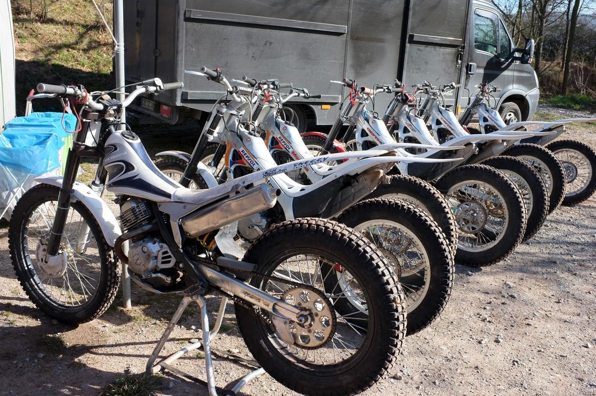 Honda Montesa Fuhrpark