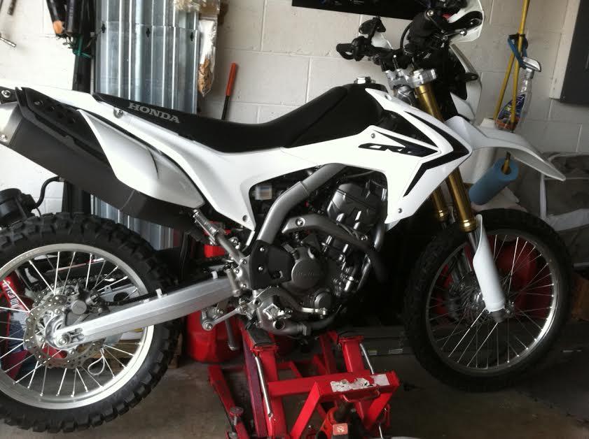 CRF250L Black&White