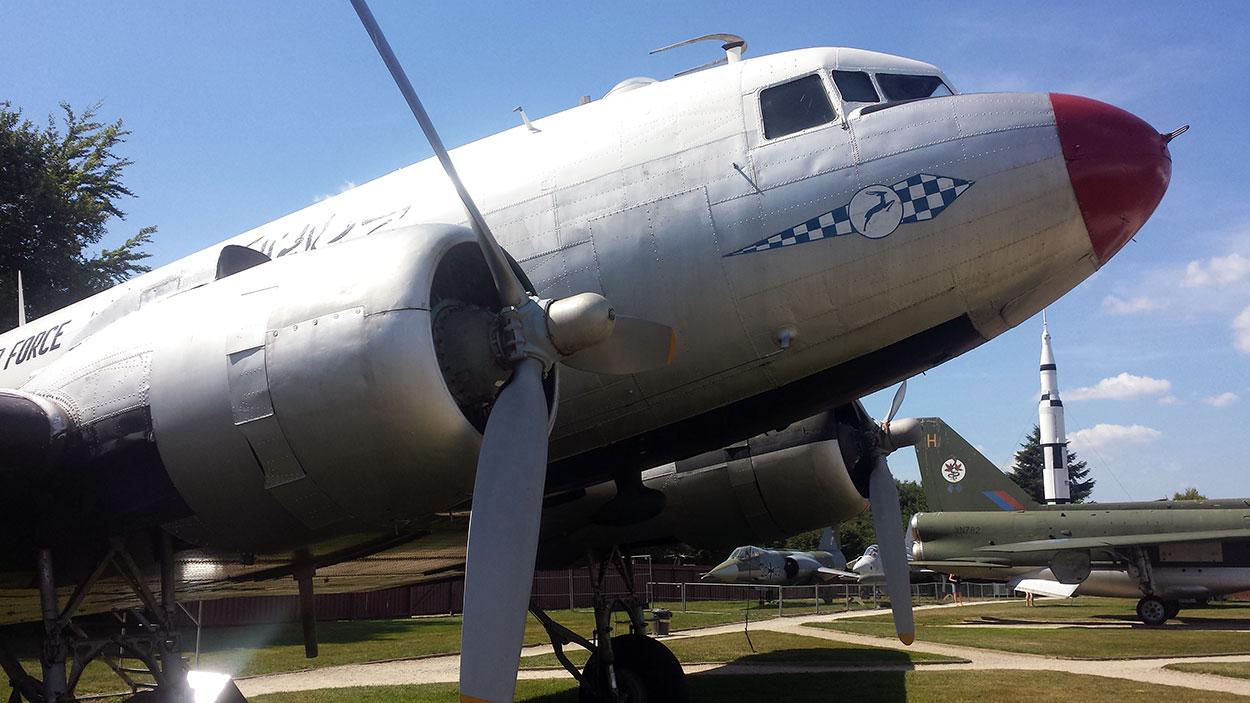DC3 auf der Flugausstellung in Hermeskeil